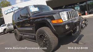 jeep commander 2010 autoline preowned 2009 jeep commander limited for sale used walk