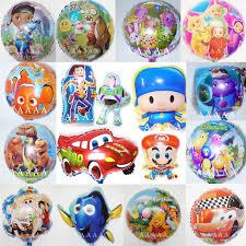 foil balloons 5pc lot foil balloons pocoyo doc mcstuffins balloon story
