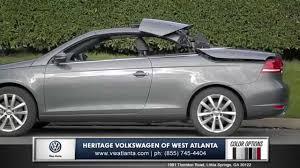 volkswagen convertible eos used 2015 vw eos for sale in marietta heritage volkswagen lithia