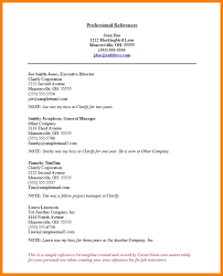 Reference Page Template Resume Sample Reference List For Resume Jennywashere Com
