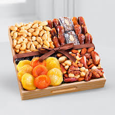 fruit and nut baskets kosher dried fruit nut tray small