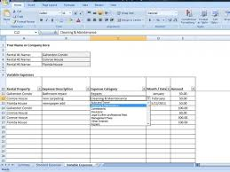 Landlord Spreadsheet Property Management Spreadsheet Excel Template For Tracking Rental