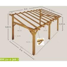 carport building plans auvent terrasse sherwood carport bois de 5mx3 garage pinterest