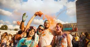 what is the holi festival of colours where is it taking place in