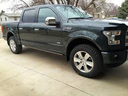 33 inch tires with no 2015 with stock 20s and 33 inch tires please ford f150 forum