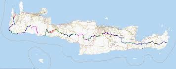 Crete Map Www Cretanway Eu