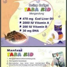 Minyak Ikan Tara Kid jual tara kid cod liver minyak ikan omega 3 dha fish di lapak
