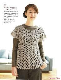 crochet blouses crochetpedia crochet shirt blouse patterns 2