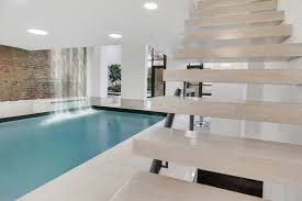 this 12m chelsea townhouse has a 30 foot saltwater pool in the