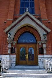 Exterior Doors Columbus Ohio File Holy Family Church Columbus Ohio Exterior Detail Front