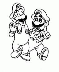 printable super mario 3d land bowser characters coloring pages
