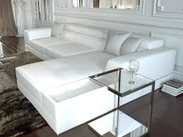Modern Sofa Furniture Premium Reclining Sectional White Leather Modern Bergamo Sofa