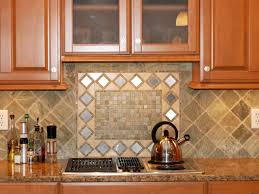 Kitchen Mural Backsplash Backsplash Tiles For Kitchen Geometric Shape Fruits Mural Stone
