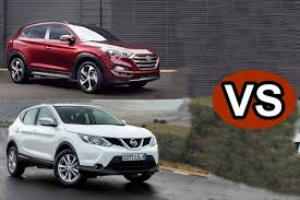 nissan dualis 2015 2016 hyundai tucson vs 2015 nissan qashqai first look youtube