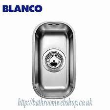 Stainless Steel Kitchen Sinks BLANCO Supra U Undermount - Kitchen sinks blanco