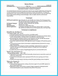 Analyst Resume Example Business Analyst Resume Examples Business Analyst Resume Examples