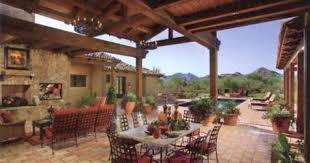 Open Concept Outdoor Living Livingroom Dining Area And You - Desert backyard designs