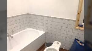 Bathtub Glaze Crackle Glaze Metro Tiled Bathroom And Low Level Shower Youtube