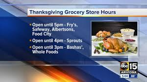 forget something for thanksgiving here are the hours