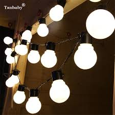 cheap wholesale tanbaby christmas lamp 5cm big ball light garland