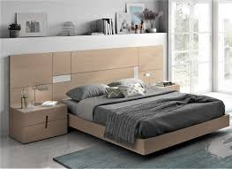 guardia astrea modern bed in wood veneer with ceramic inserts