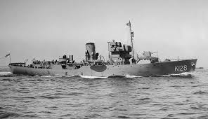 corvette boat ww2 royal navy convoy movements war 2