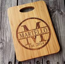 custom cutting board personalized cutting board bamboo cutting