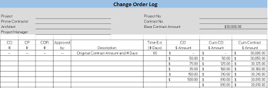 Log Excel Template Free Construction Project Management Templates In Excel