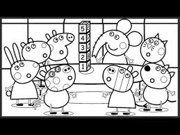 peppa pig friends plays games kids fun art activities coloring