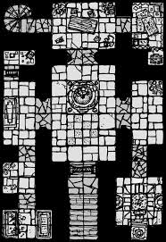 fantasy gaming floor plans and maps dungeon level maps