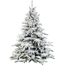 flocked tree 9 ft flocked christmas tree christmas2017