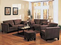 Gorgeous Living Room Colors With Brown Furniture With Ideas About - Interior designs for living room with brown furniture