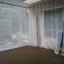 Mosquito Curtains For Porch Outdoor Curtains Mosquito Drapes Porch Screens Contemporary