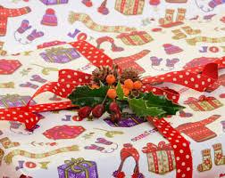 gift wrap christmas christmas gift wrap etsy