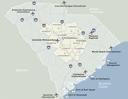 Columbia Sc Map Newberry County Sc Economic Development Maps