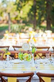 Yellow Table L 26 Best Turquoise Yellow Wedding Colors Images On Pinterest