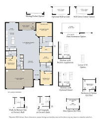 infinity new home plan vero beach fl divosta home builders first floor options