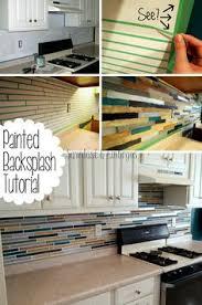 paint kitchen backsplash how to paint a kitchen tile backsplash labour