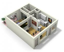 Apartment Designs And Floor Plans 3d Apartment Design Completure Co