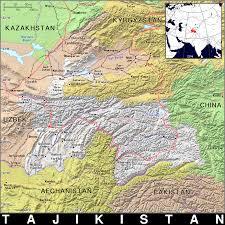 Tajikistan Map Tj Tajikistan Public Domain Maps By Pat The Free Open Source