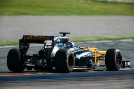 renault race cars robert kubica passes fia extraction test before second renault f1