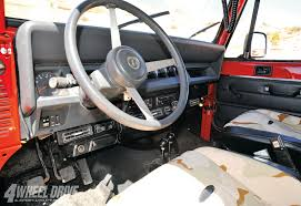 jeep red interior interieur jeep wrangler yj jeep yj wrangler interior parts car