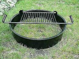 Firepit Liner Stainless Steel Pit Liner Tabletop Pit Walmart