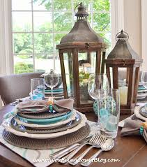 Casual Table Setting Beautiful And Casual Round Table Setting Worthing Court