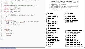 encoder morse code converter in c stack overflow