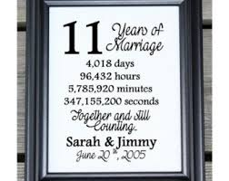 11th anniversary gifts for 11th wedding anniversary card steel eleven years marriage