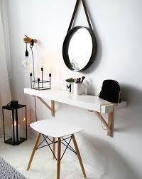 bureau de ikea tablette ou bureau ikea svalnas ou ekby pour coiffeuse près de mon