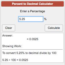 percent to decimal calculators math percent to decimal calculator png