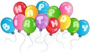 birthday balloons happy birthday balloons clipart