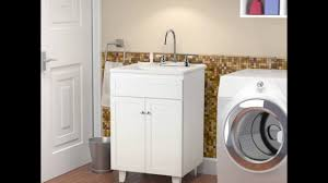 Laundry Room Cabinets With Sinks by Laundry Sink Cabinet Youtube